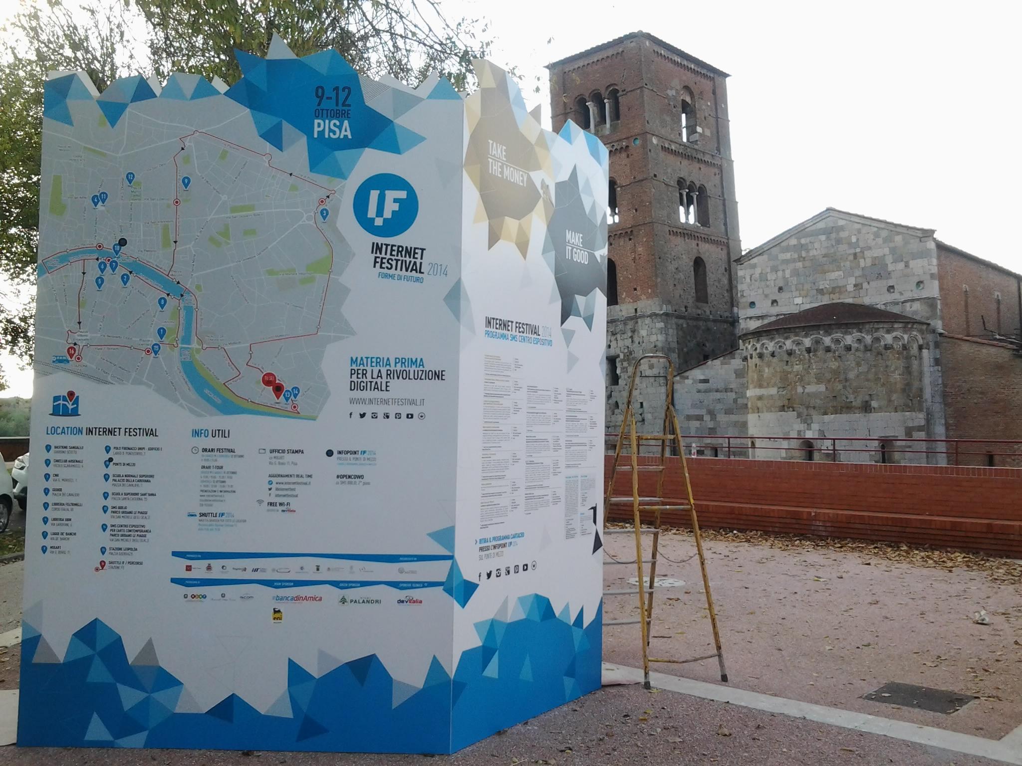 Internet Festival 2014, SMS Pisa