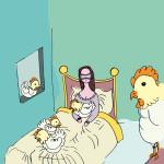 Andare a letto con le galline