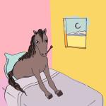 Avere una febbre da cavallo