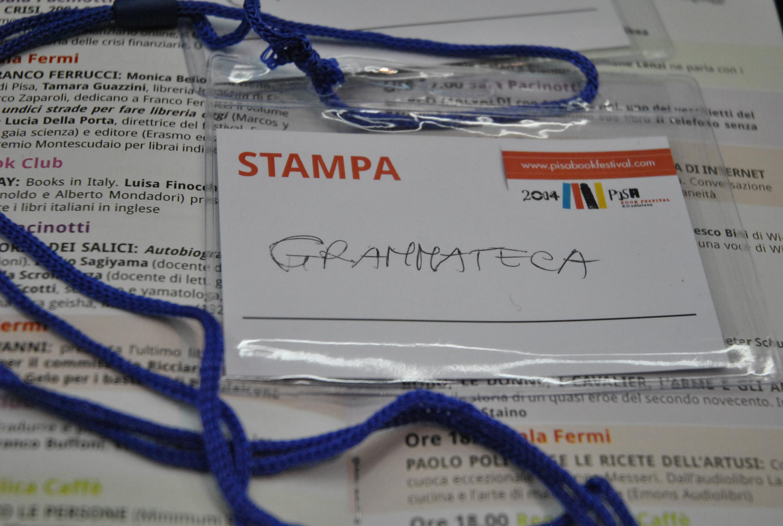 Cartellino Gramma-teca al PBF 2014