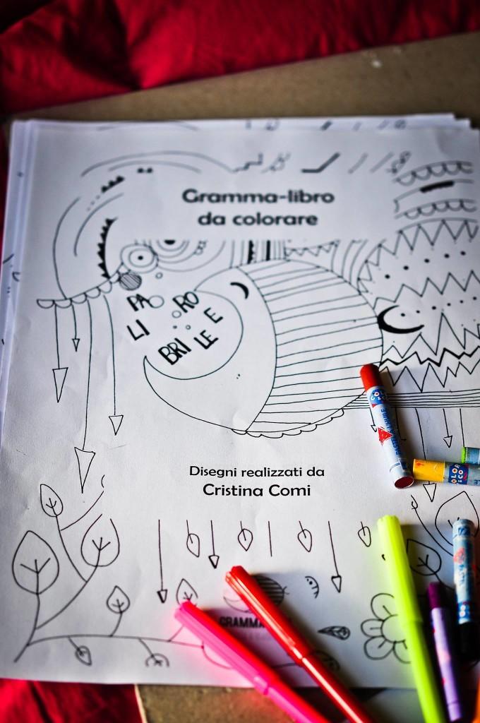 Gramma libro da colorare per adulti gramma teca - Libro da colorare elefante libro ...