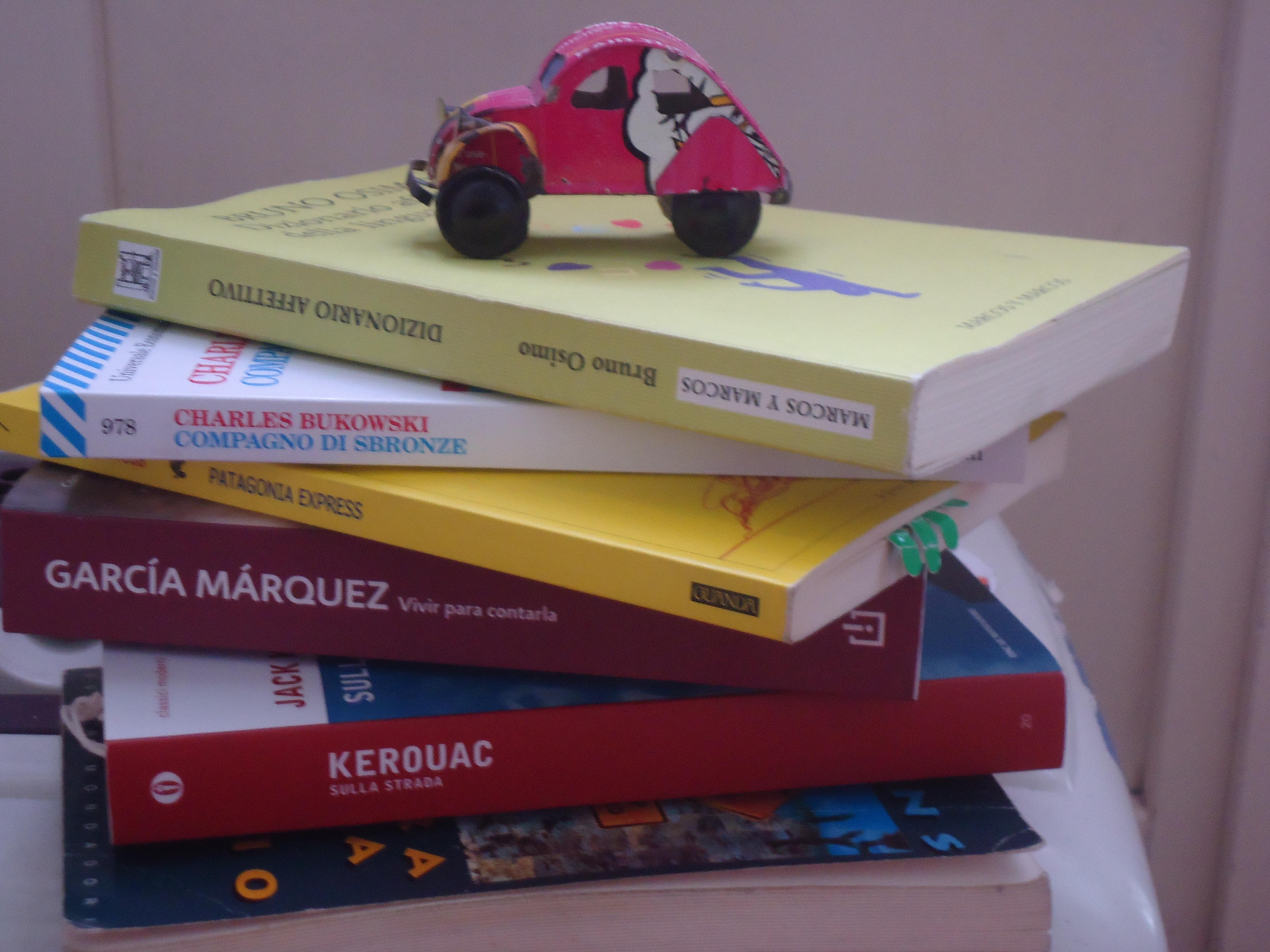 Lascia un libro in taxi